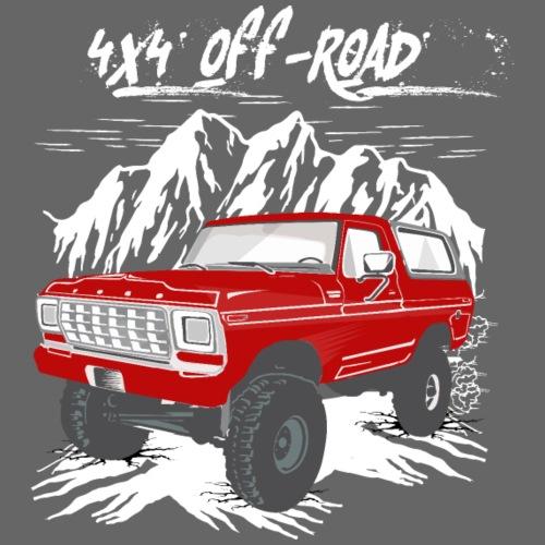 Bronco 4x4 Off Road T-shirt - Men's T-Shirt