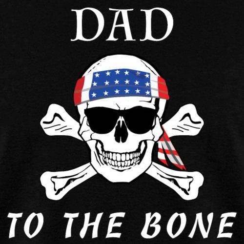Papá para el cráneo del esqueleto pirata óseo Cross Bones.