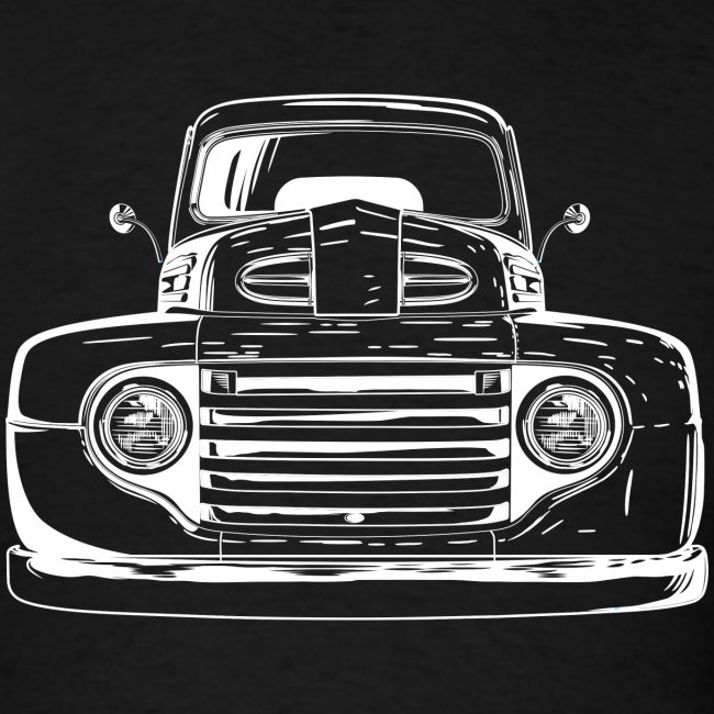 1949 Ford F1 Classic Truck Men's T-Shirt