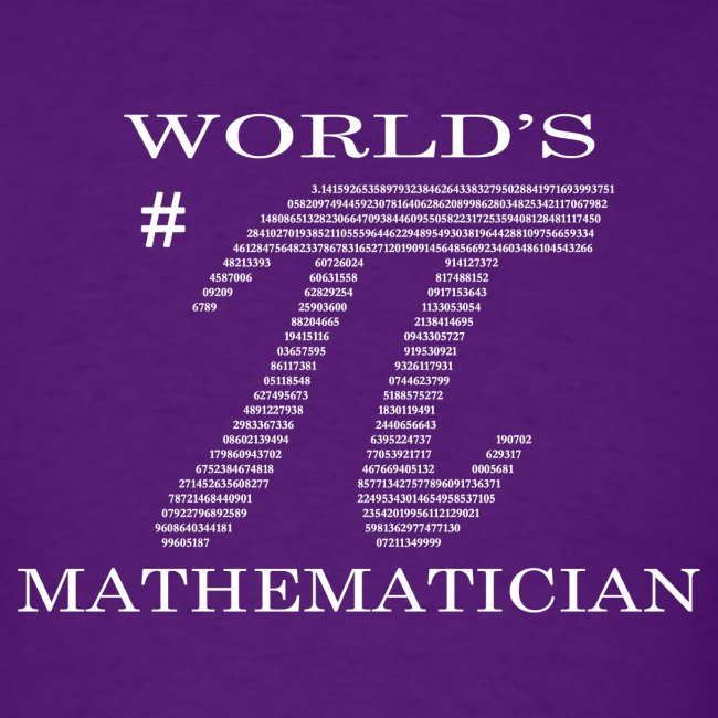 World's # Pi Mathematician