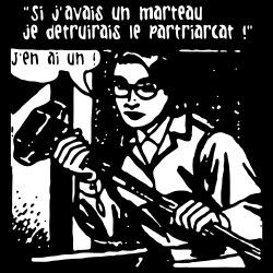 Si j\'avais un marteau je détruirais le patriarcat! J\'en ai un!