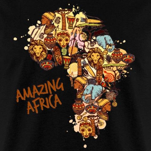Amazing Africa - Men's T-Shirt