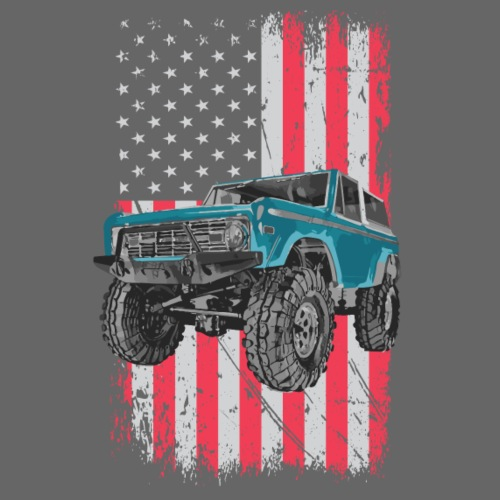Bronco Drop the Hammer Truck Men's T-Shirt - Men's T-Shirt