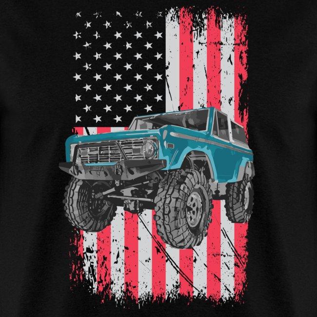 Bronco Drop the Hammer Truck Men's T-Shirt