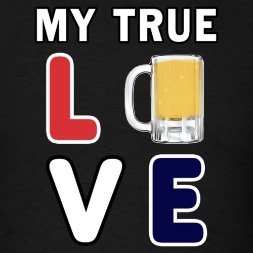 Craft Beer lover, funny Alcohol Day Drinking Gift. - Men's T-Shirt