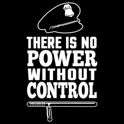 There is no power without control