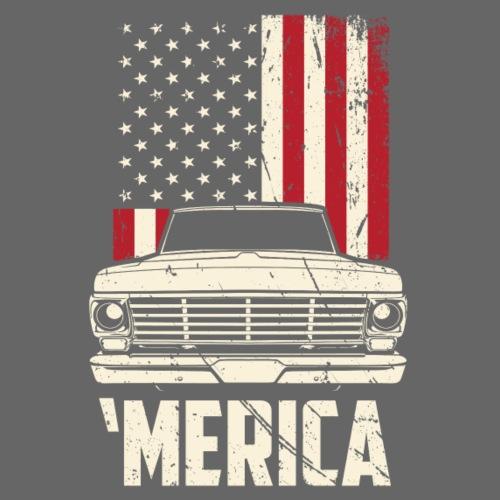 'Merican F100 Truck Men's T-Shirt - Men's T-Shirt