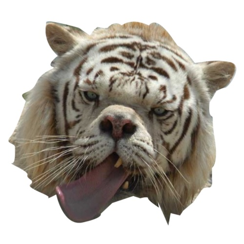 Special white tiger - Men's T-Shirt