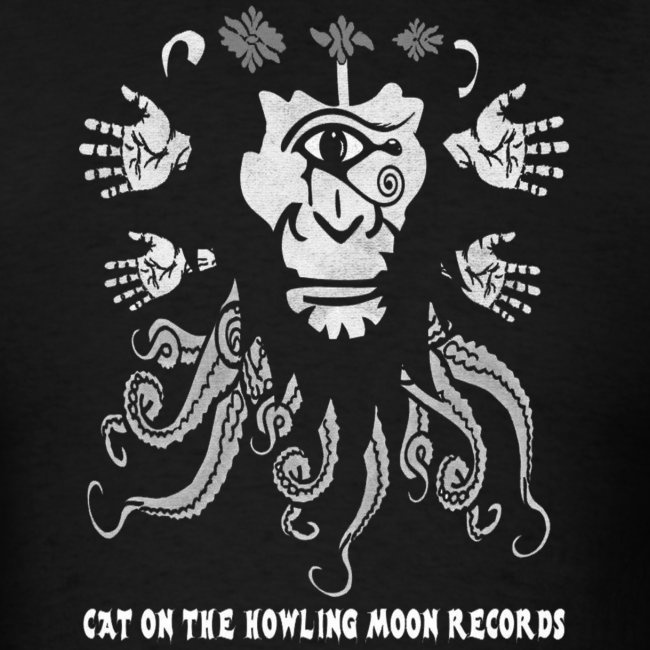 Cat on the Howling Moon Records - Logo 2 (shirt)