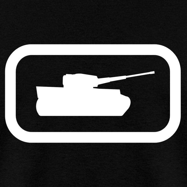 Tank Logo (White) - Axis & Allies