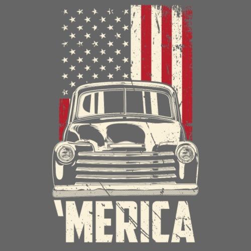 1949 Chevy Truck Merica Mens T-shirt - Men's T-Shirt
