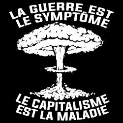 La guerre est le symptôme. Le capitalisme est la maladie