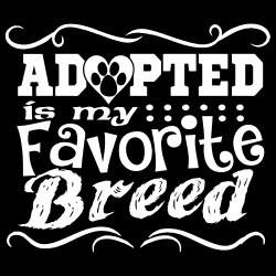 Adopted is my favorite breed