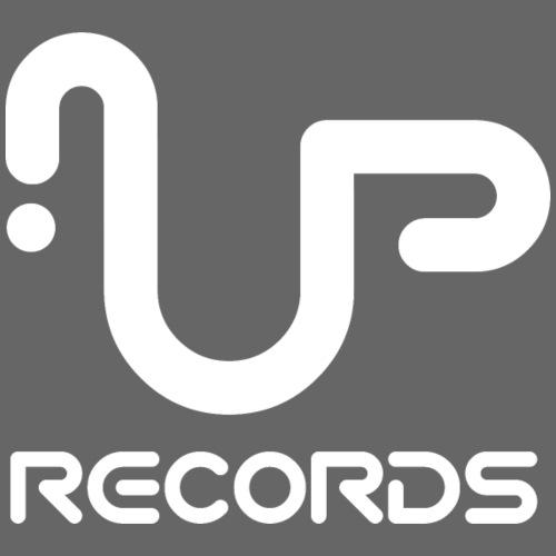 UP Records Logo - Men's T-Shirt