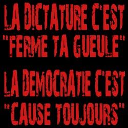 La dictature c\'est \