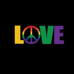 Love Peace LGBTQ