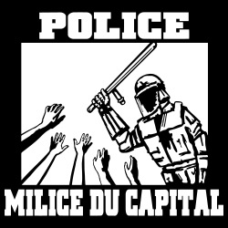 Police milice du capital