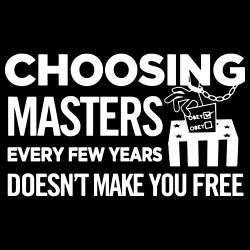 Choosing masters every few years doesn\'t make you free