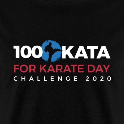 100 Karate Kata Official Shirt 2020 v1 - Men's T-Shirt