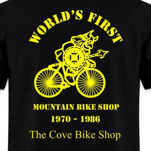 VIKING Large Yellow on back - Men's T-Shirt