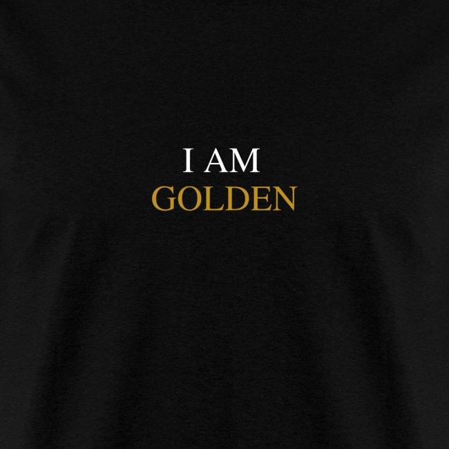 """DemiGod """"I Am Golden"""" (Black)"""