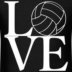 Love Volleyball - Men's T-Shirt