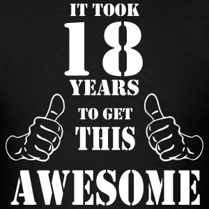 18th Birthday Get Awesome T Shirt Made in 1999 - Men's T-Shirt