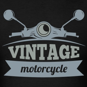 Vintage Motorcycle - Men's T-Shirt