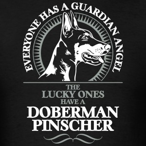 GUARDIAN ANGEL DOBERMAN PINSCHER - Men's T-Shirt