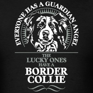 GUARDIAN ANGEL BORDER COLLIE - Men's T-Shirt