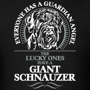 GUARDIAN ANGEL GIANT SCHNAUZER - Men's T-Shirt
