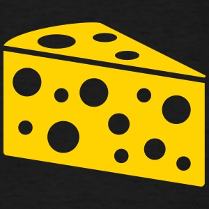A piece of cheese - Men's T-Shirt