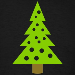 xmas tree - Men's T-Shirt