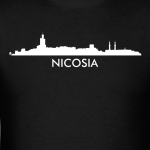 Nicosia Cyprus Skyline - Men's T-Shirt