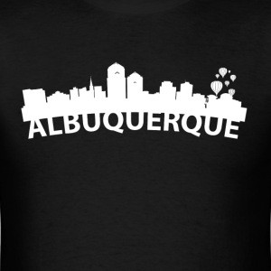 Arc Skyline Of Albuquerque NM - Men's T-Shirt