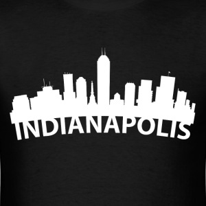 Arc Skyline Of Indianapolis IN - Men's T-Shirt