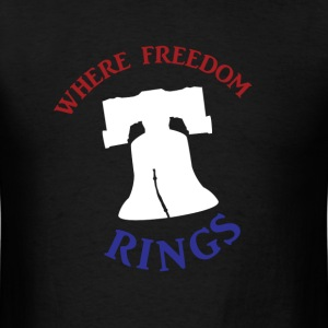 Freedom Rings - Color - Men's T-Shirt