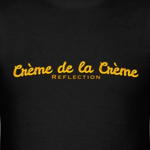 cr--me_de_la_cr--me_logo - Men's T-Shirt