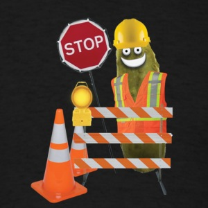 Safety Pickle - Men's T-Shirt