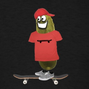 Skater Pickle - Men's T-Shirt