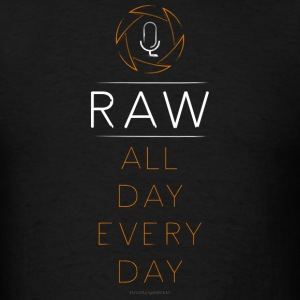 For the RAW Shooter - Men's T-Shirt