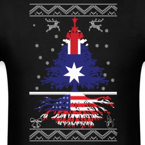 Australian with American root - Men's T-Shirt