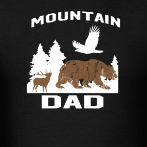 MOUNTAIN DAD - Men's T-Shirt