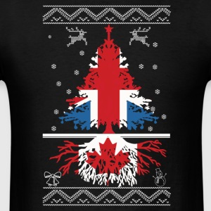 British with Canadian root - Men's T-Shirt