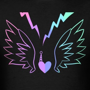 Electric Angel v2 - Men's T-Shirt
