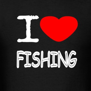 I LOVE FISHING - Men's T-Shirt