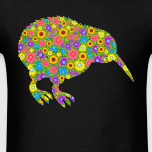 Kiwi Bird Flower Shirt - Men's T-Shirt