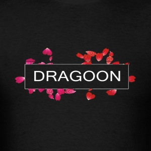 Dragoon Rose Logo - Men's T-Shirt