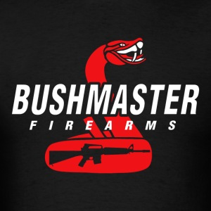 BUSHMASTER Fire Arms logo - Men's T-Shirt
