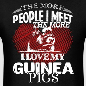 I Love My Guinea Pigs Shirt - Men's T-Shirt